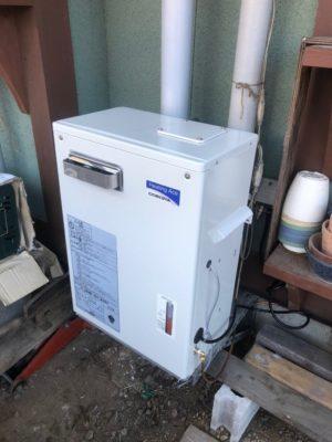 コロナ床暖房用ボイラー交換